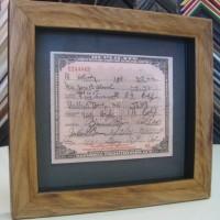 Certificate Framing | San Diego framing