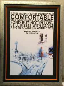 Concert Poster Framing | Ray Street Custom Framing