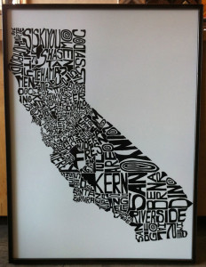 Printed Art Framing | Ray Street Custom Framing