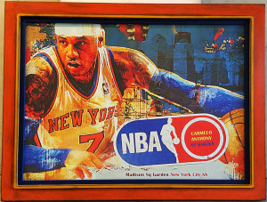 Sport Poster Framing   San Diego custom framing