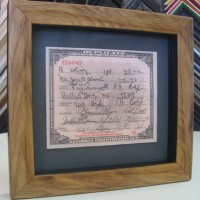 Certificate Framing | San Diego framing