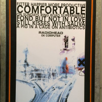Concert Poster Framing | Ray Street Custom Framing