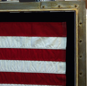 Custom Framed Flag | Ray Street Custom Framing