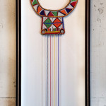 Beadwork Shadow Box