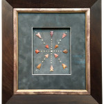 Arrowheads Shadow Box